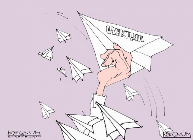 В Госдуме объяснили манипуляцию ЕС санкционными списками