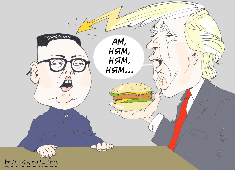 Трамп vs Ким