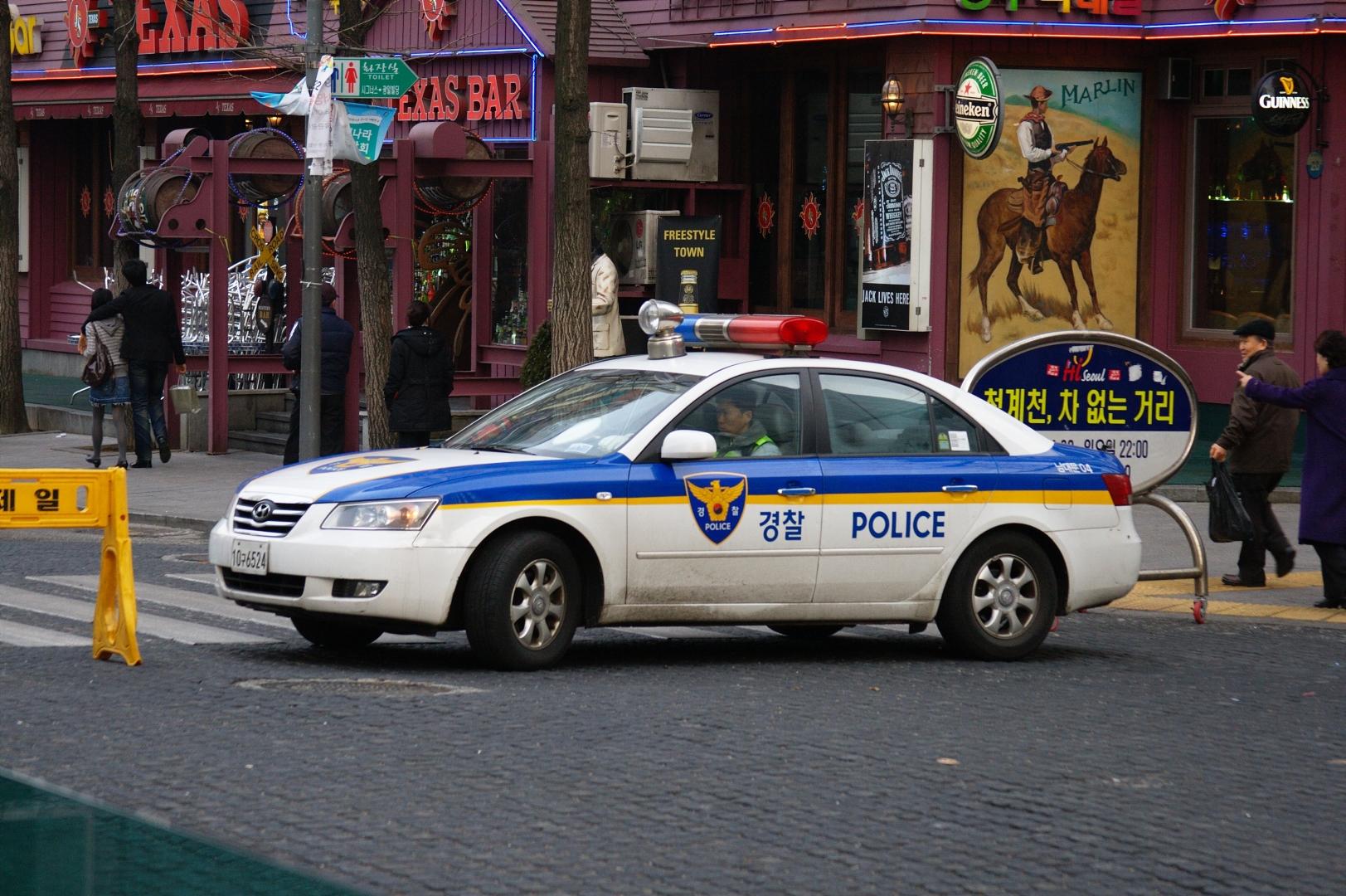 Полиция. Южная Корея
