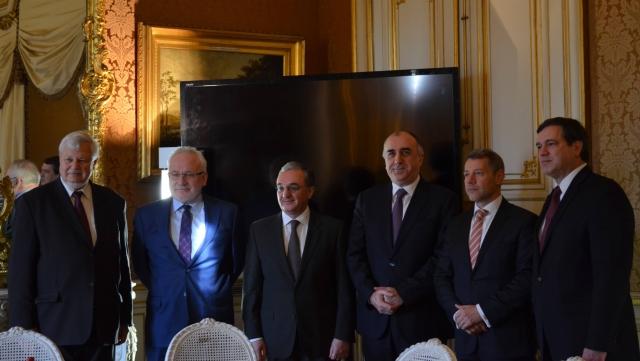 Встреча министров иностранных дел Армении и Азербайджана