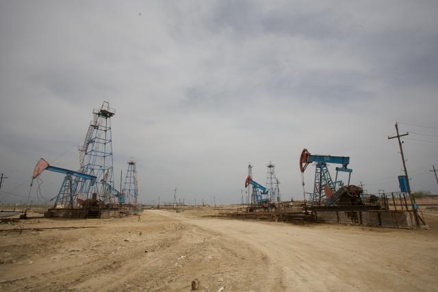Добыча углеводородов. Азербайджан