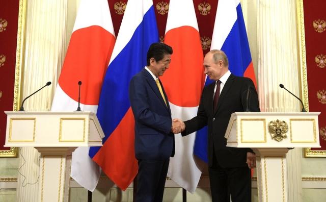 Правительство Японии оценило переговоры Путина и Абэ
