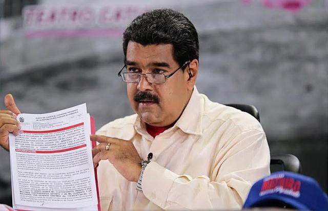 Россия считает Николаса Мадуро законным президентом Венесуэлы