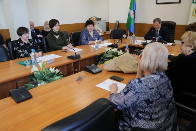 Заседание Женской фракции Екатеринбургской городской Думы