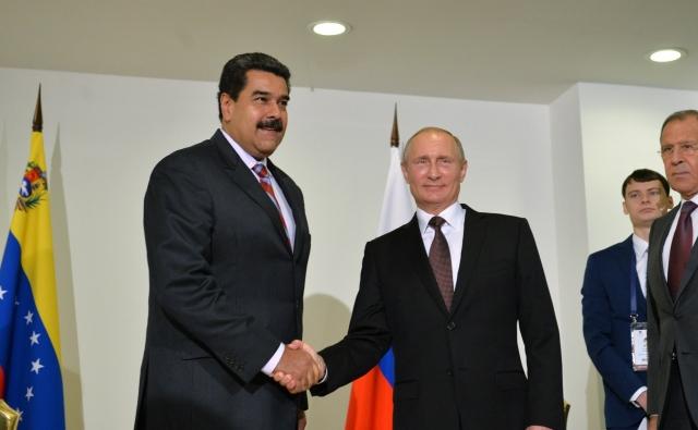Путин поддержал Мадуро