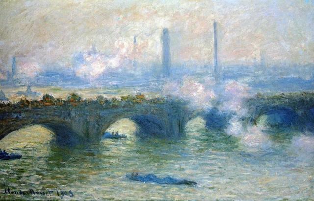 Клод Моне. Мост Ватерлоо, Лондон. 1903