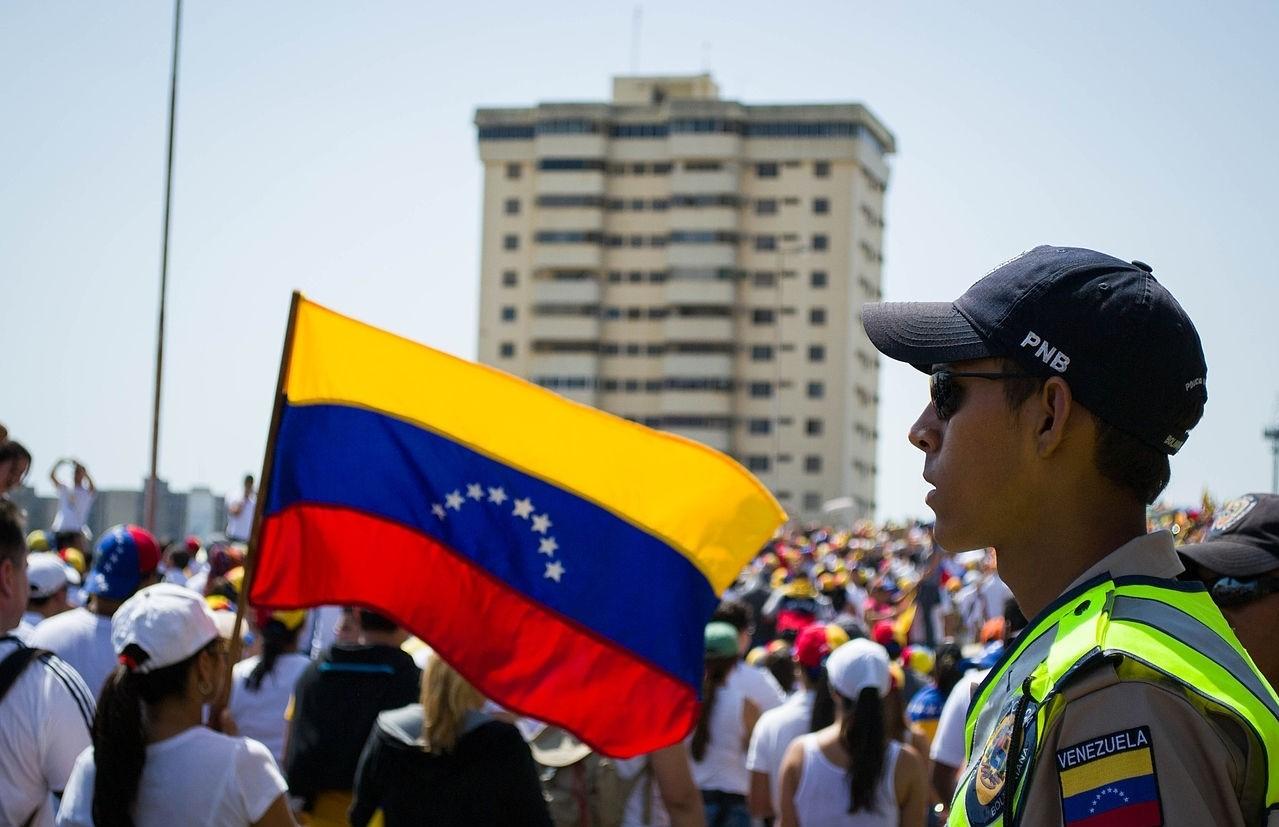 Манифестации в Венесуэле