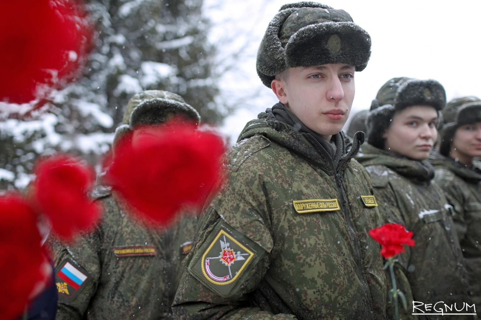 Торжественно-траурная церемония у мемориала «Январский гром»