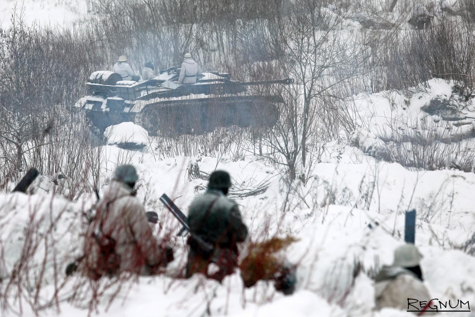 Военно-историческая реконструкция «В полосе прорыва»