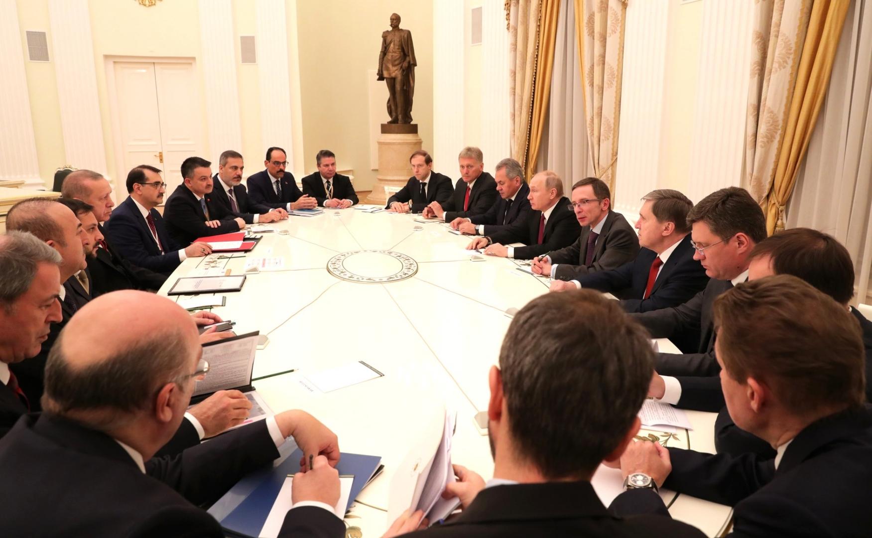 Российско-турецкие переговоры в расширенном составе