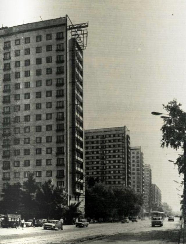 Историческое фото комплекса на Щербаковской.