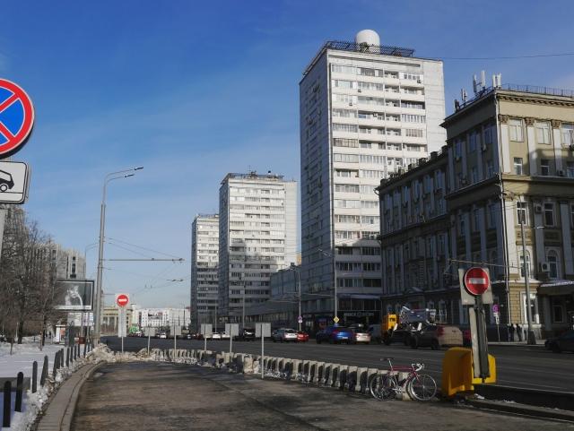 Башни КМС-101 на Садовом Кольце.