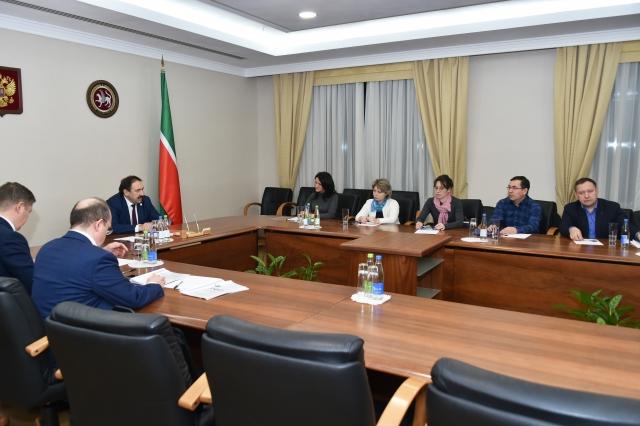 Встреча Премьер-министра РТ Алексея Песошина с вкладчиками