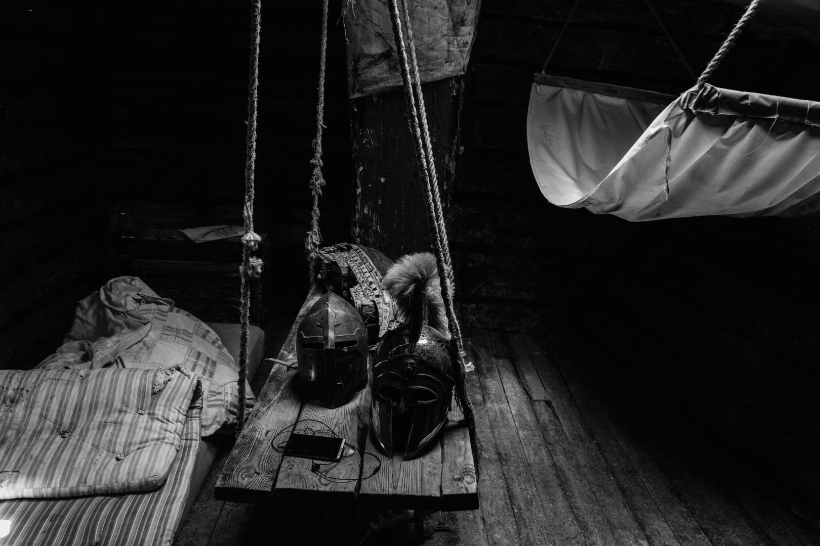 Изначально корабль планировалось строить у берегов Латинской Америки, но после включения Крыма в состав России, была выбрана бухта Бугаз, под Судаком