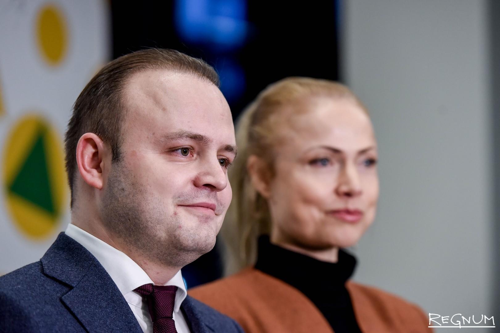 Владислав Даванков и Валерия Заболотная