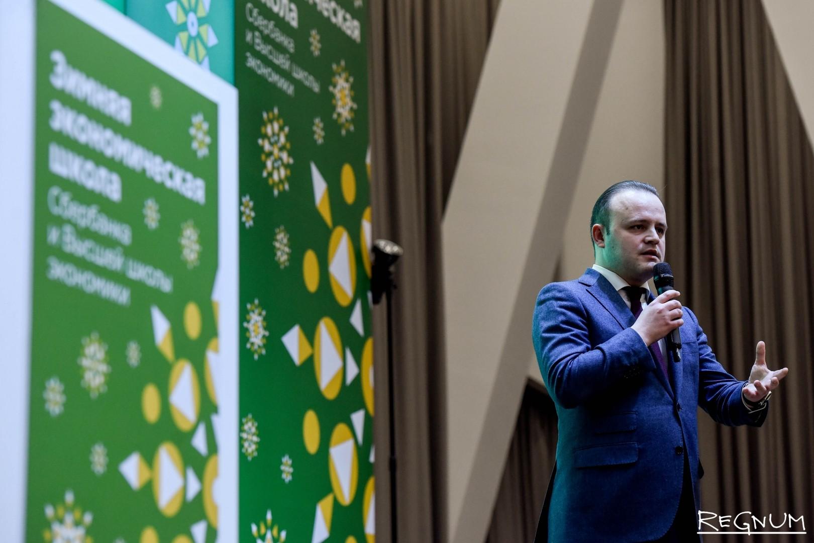 Владислав Даванков во время церемонии награждения