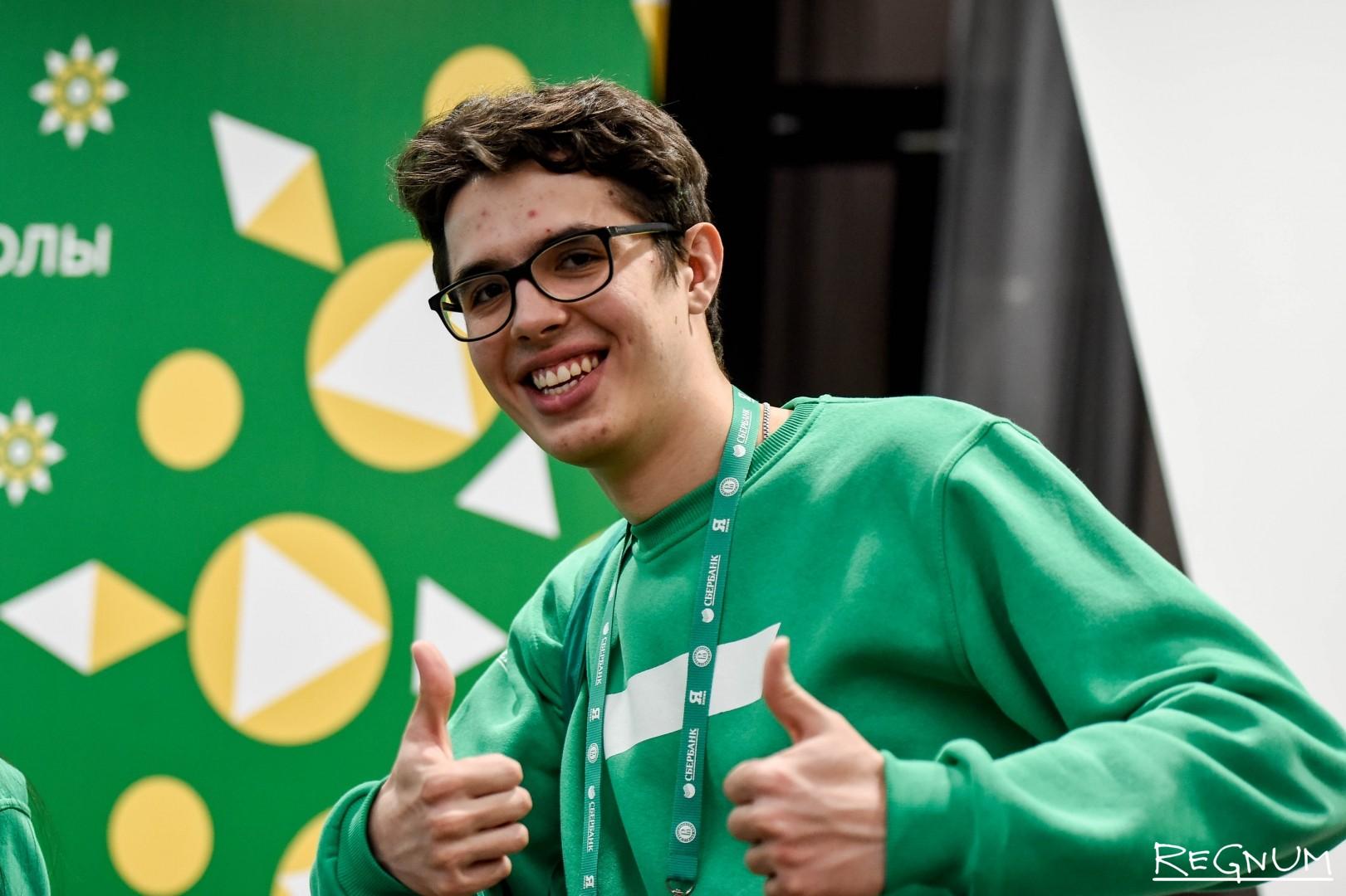 Участник олимпиады «Я — профессионал»