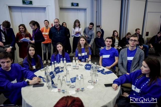 Участники Зимней школы
