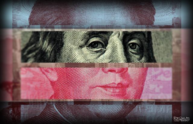 Юань укрепляется к доллару
