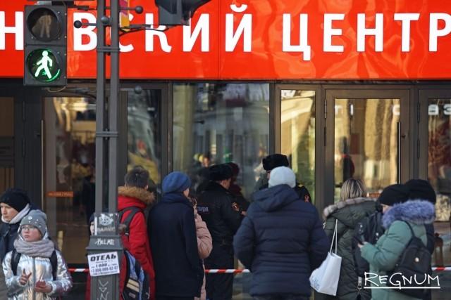 «Заминирование» ТК «Невский центр»