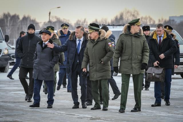 Сергей Шойгу в Татарстане