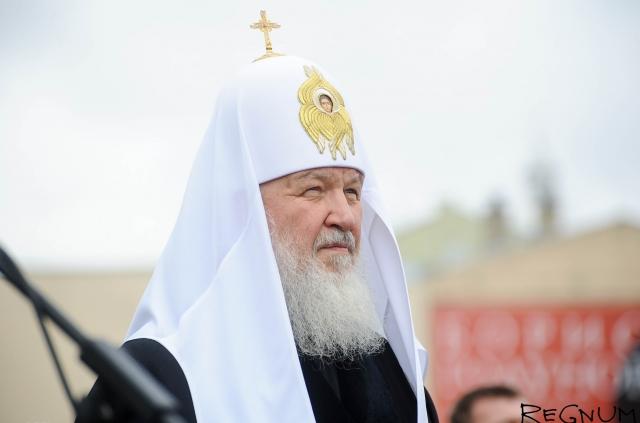 Патриарх Кирилл: Между РПЦ и государством идет равноправный диалог