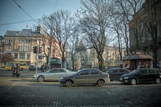 На дорогах Львова