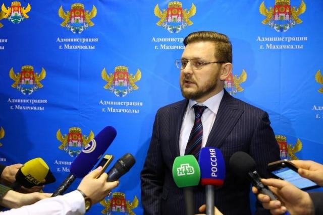 Салман Дадаев после избрания мэром Махачкалы ответил на вопросы журналистов