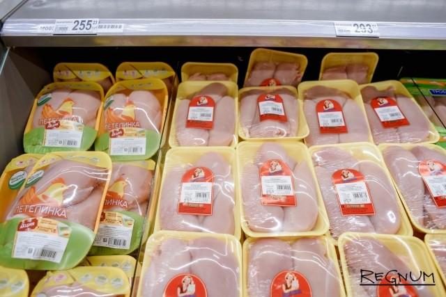 Цены на курицу в «Ашане»
