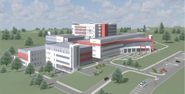 Проект онкологического центра