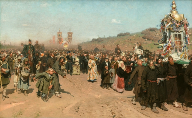 И.Е. Репин. Крестный ход в Курской губернии (1880–1883)