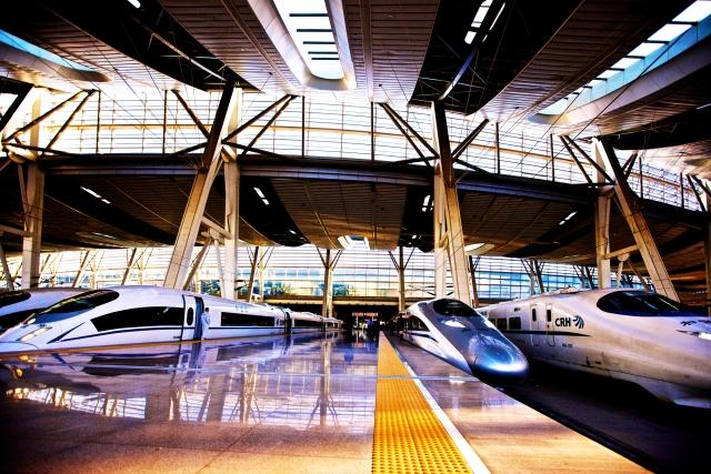 Китай продолжает развитие высокоскоростной железнодорожной сети