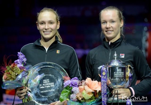 Донна Векич (Хорватия) и Кики Бертенс (Нидерланды)