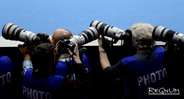 Работа фотографов