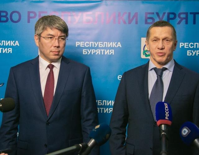Александр Цыденов и Юрий Трутнев