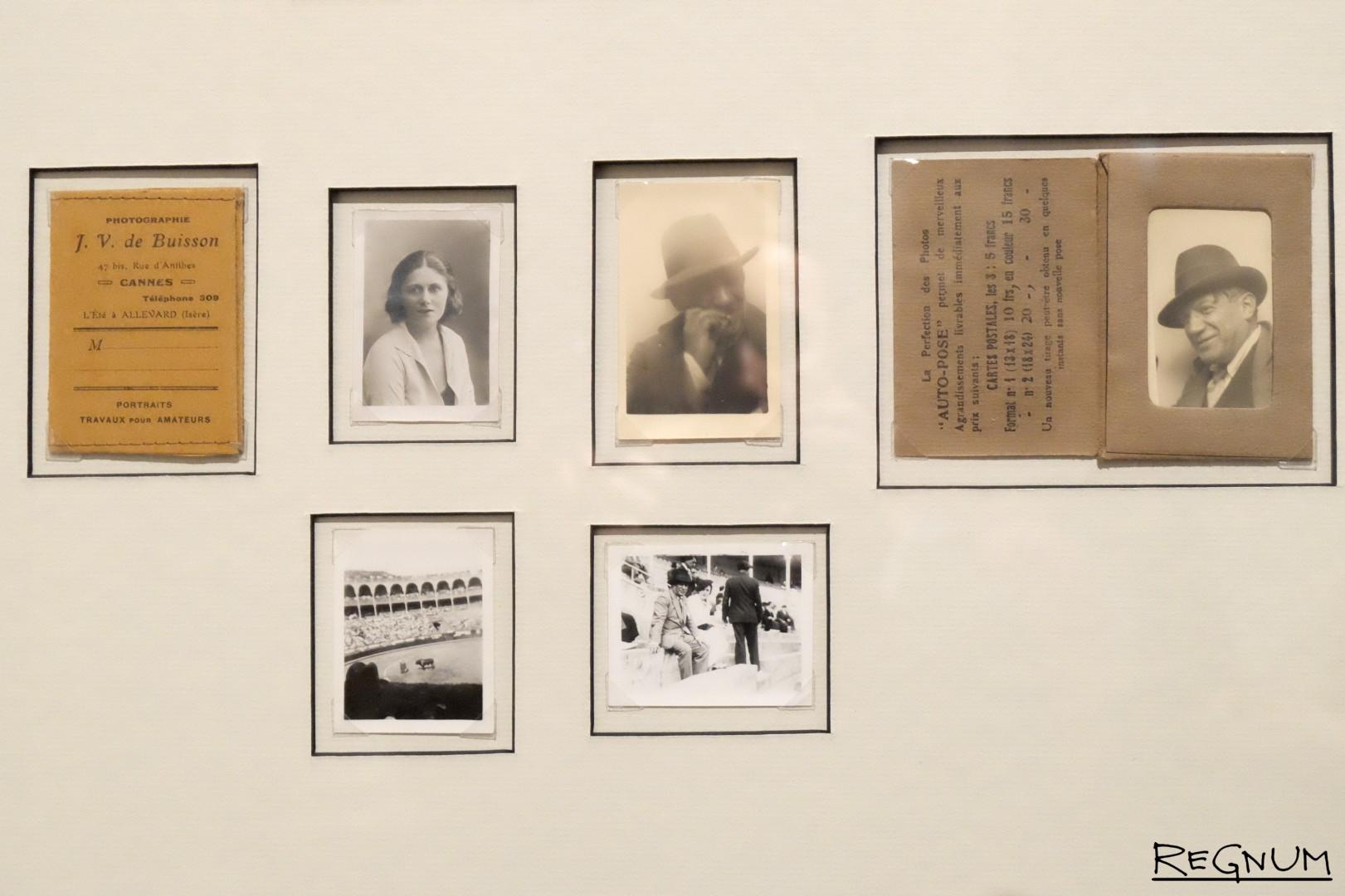Фотографии Пабло Пикассо и Ольги Хохловой