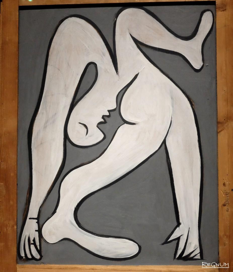 Пабло Пикассо. Акробат