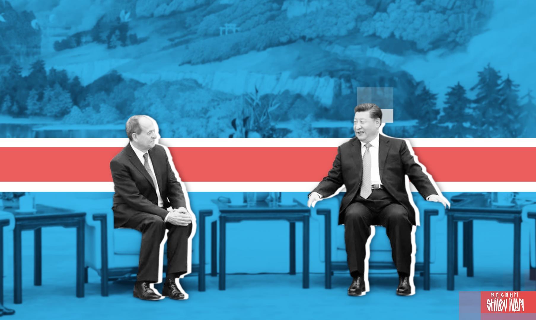 Встреча Си Цзиньпина со Стивеном Перри