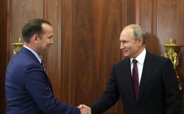 Встреча Владимира Путина с Вадимом Шумковым