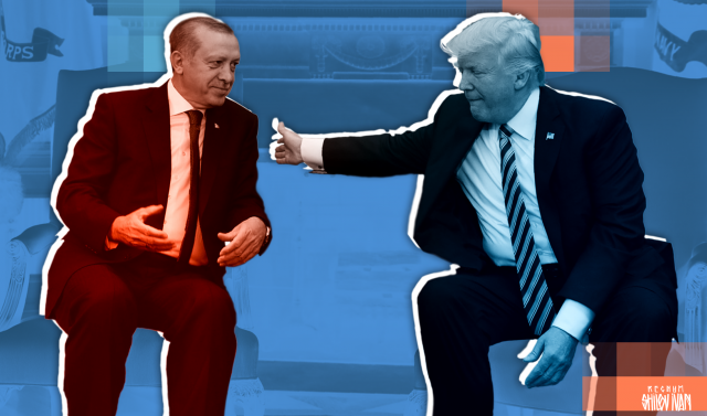 В какую лунку загоняет Трамп шар «Эрдоган»