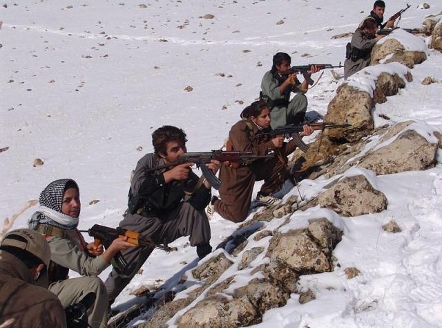 Вооружённые курды