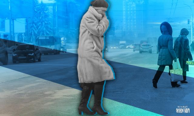 В Челябинске от морозов пострадали пять человек