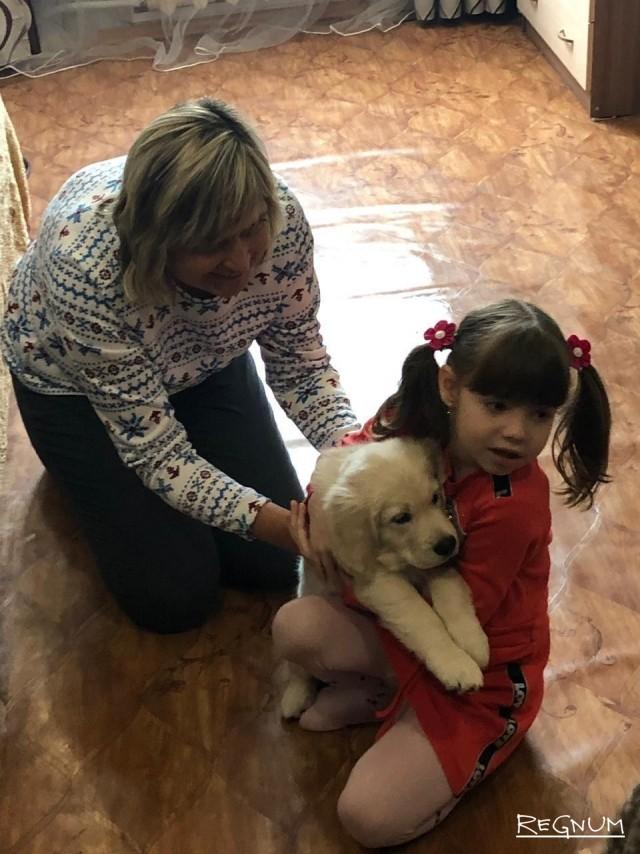Особенная девочка из Приморья получила подарок от Владимира Путина