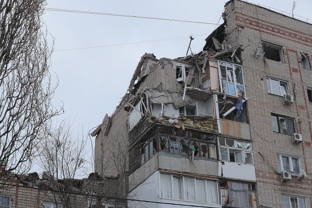 Взрыв газа в Шахтах