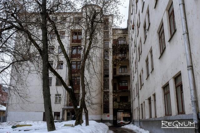 Общежитие Минобороны в Москве