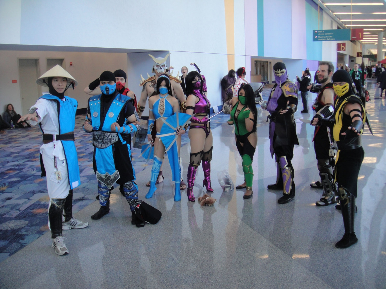 Косплейеры по вселенной Mortal Kombat