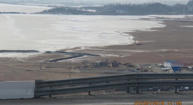 Февраль 2019 года. Ландшафт Таловских болот серьезно изменился