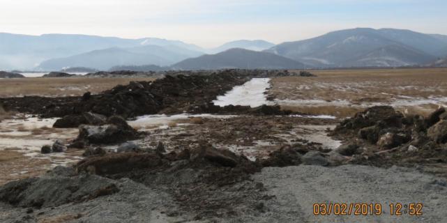 Вот так теперь выглядит западная окраина Таловских болот. Экологический ущерб отсутствует?