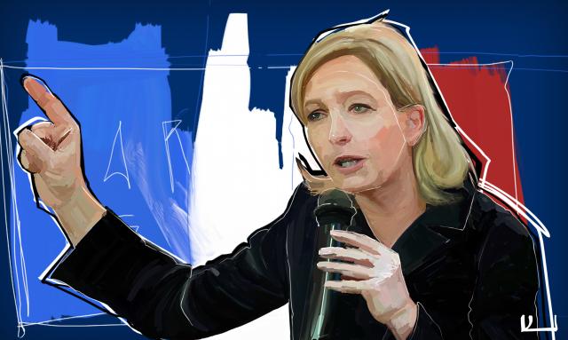 Ни опросник, ни дебаты не решат проблемы во Франции — Марин Ле Пен
