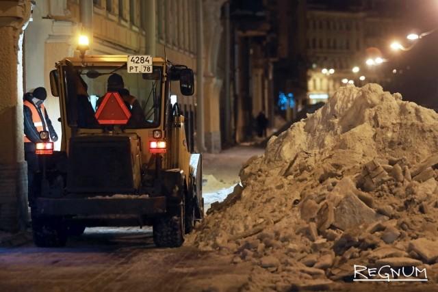 Очистка Таврической улицы